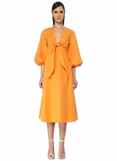 Academia Elbise Oranj